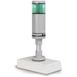 Signaallamp voor de optische ondersteuning van wegingen met tolerantiebereik